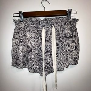 Wilfred Montrouge silk shorts S